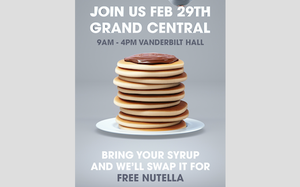 Campaign, Pop-Up Event Encourage Swapping Pancake Syrup For Nutella