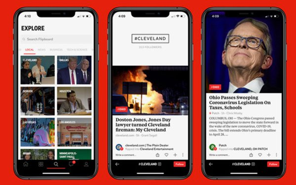 Flipboard Expands Local Coverage, COVID-19 Vertical