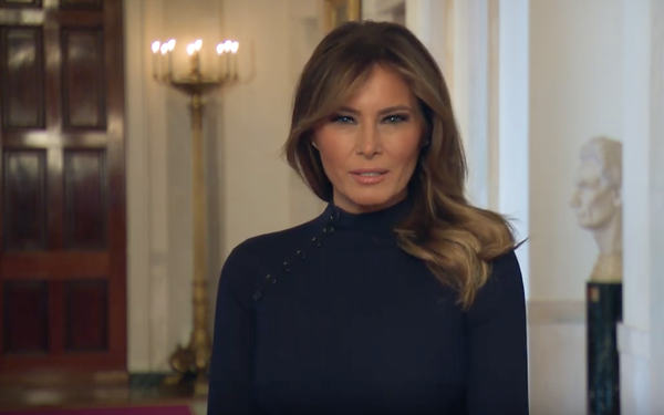 CDC, WHO Enlist Influencers, Including Melania Trump, Knox Frost