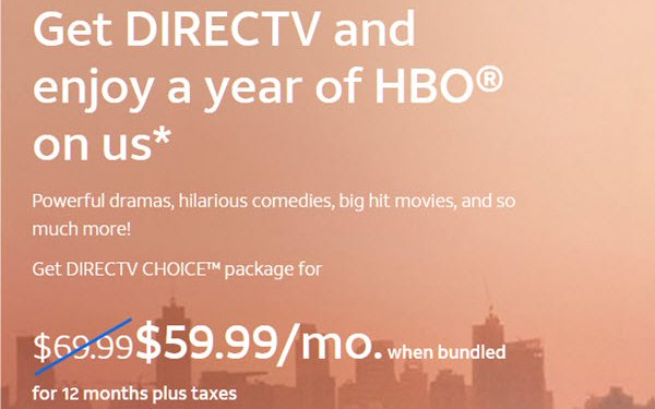 AT&T Offers Free HBO To Boost DirecTV, AT& TV Subscriptions