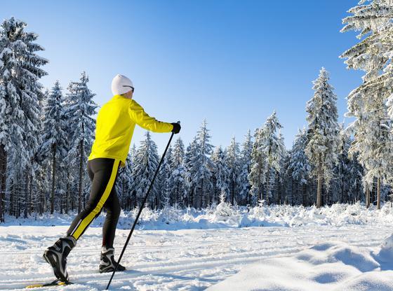 Ski de fond en hiver