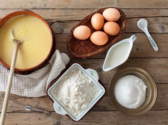 Crèmes glacées colorées