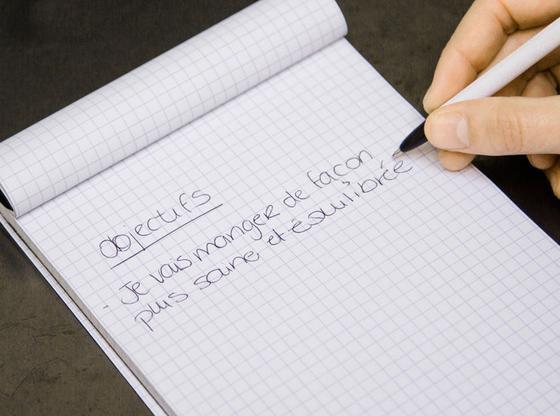 Conseil de motivation: se fixer des objectifs