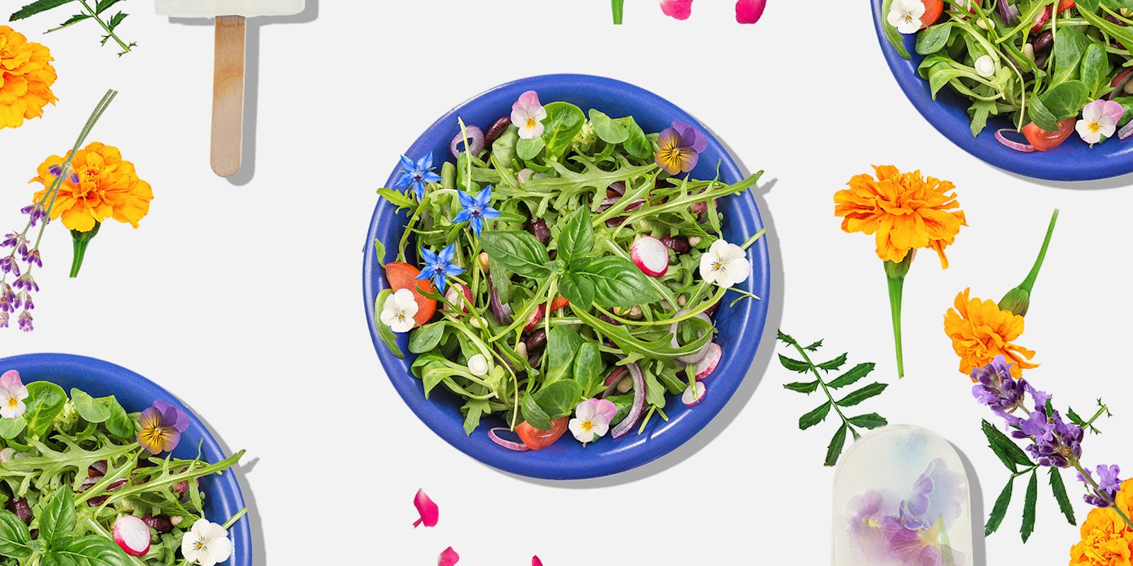 Mettez-y de la couleur, mettez-y de la saveur, mettez-y des fleurs!