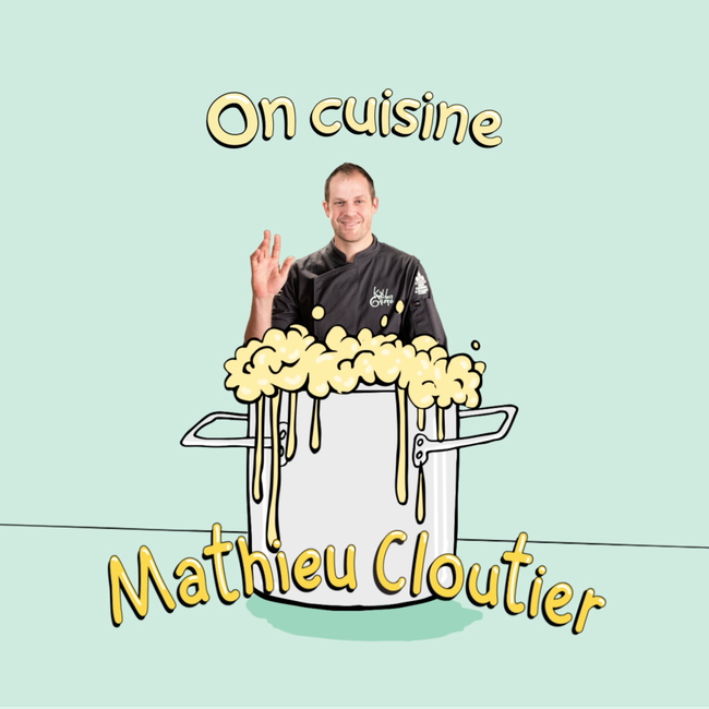 On cuisine Mathieu Cloutier, chef du resto Kitchen Galerie