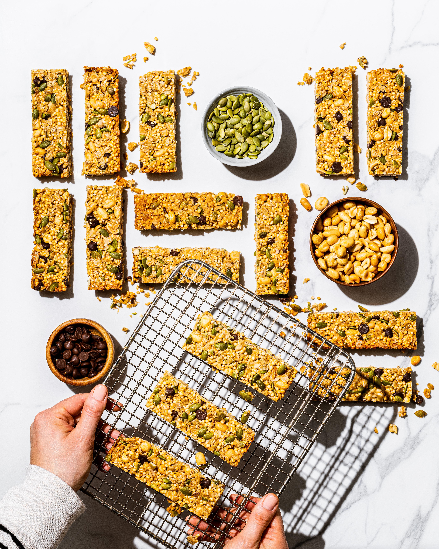 Barres tendres santé au quinoa