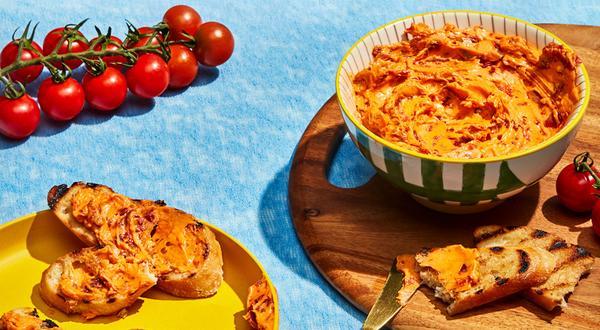 Beurre aux piments et aux tomates séchées