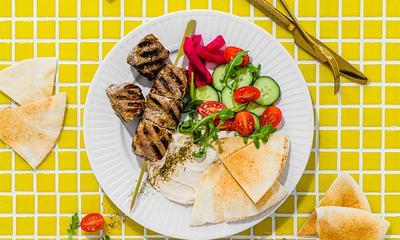 Bœuf shawarma libanais – Bœuf grillé mariné au yogourt