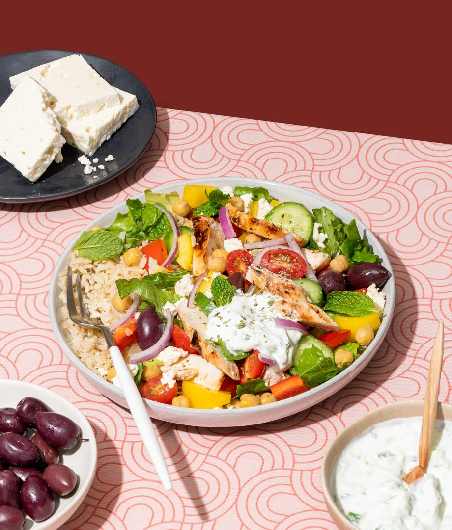 Bol santé à la grecque