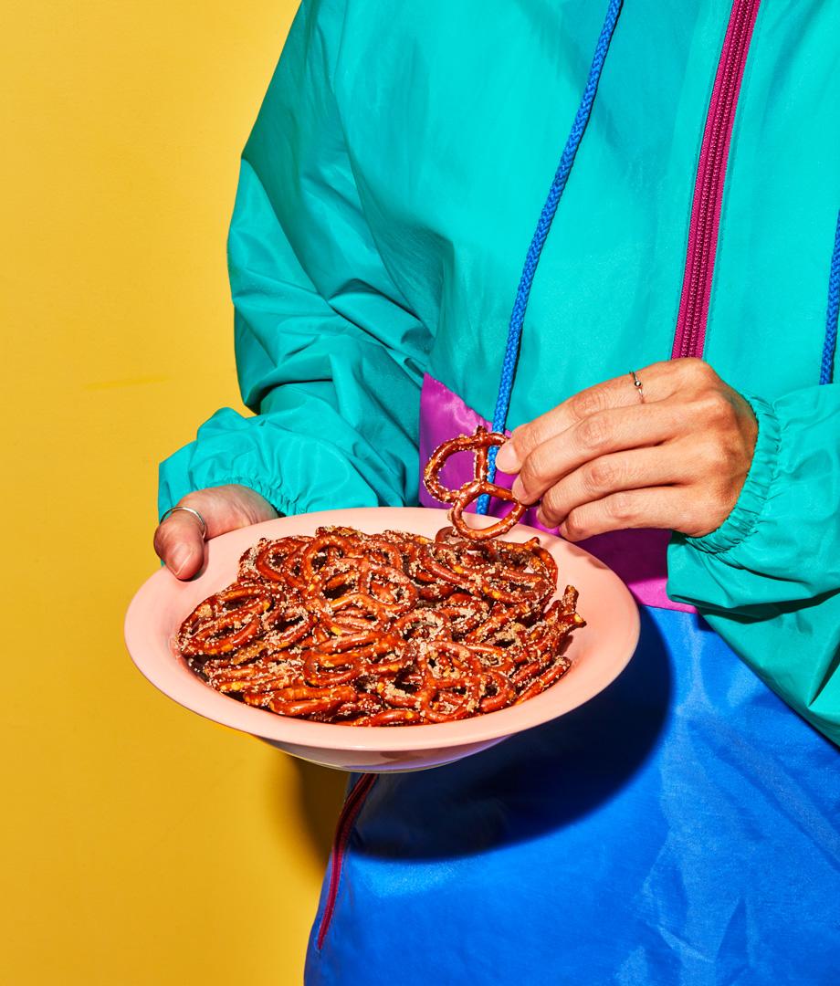 Bretzels sucrés-salés à la cannelle