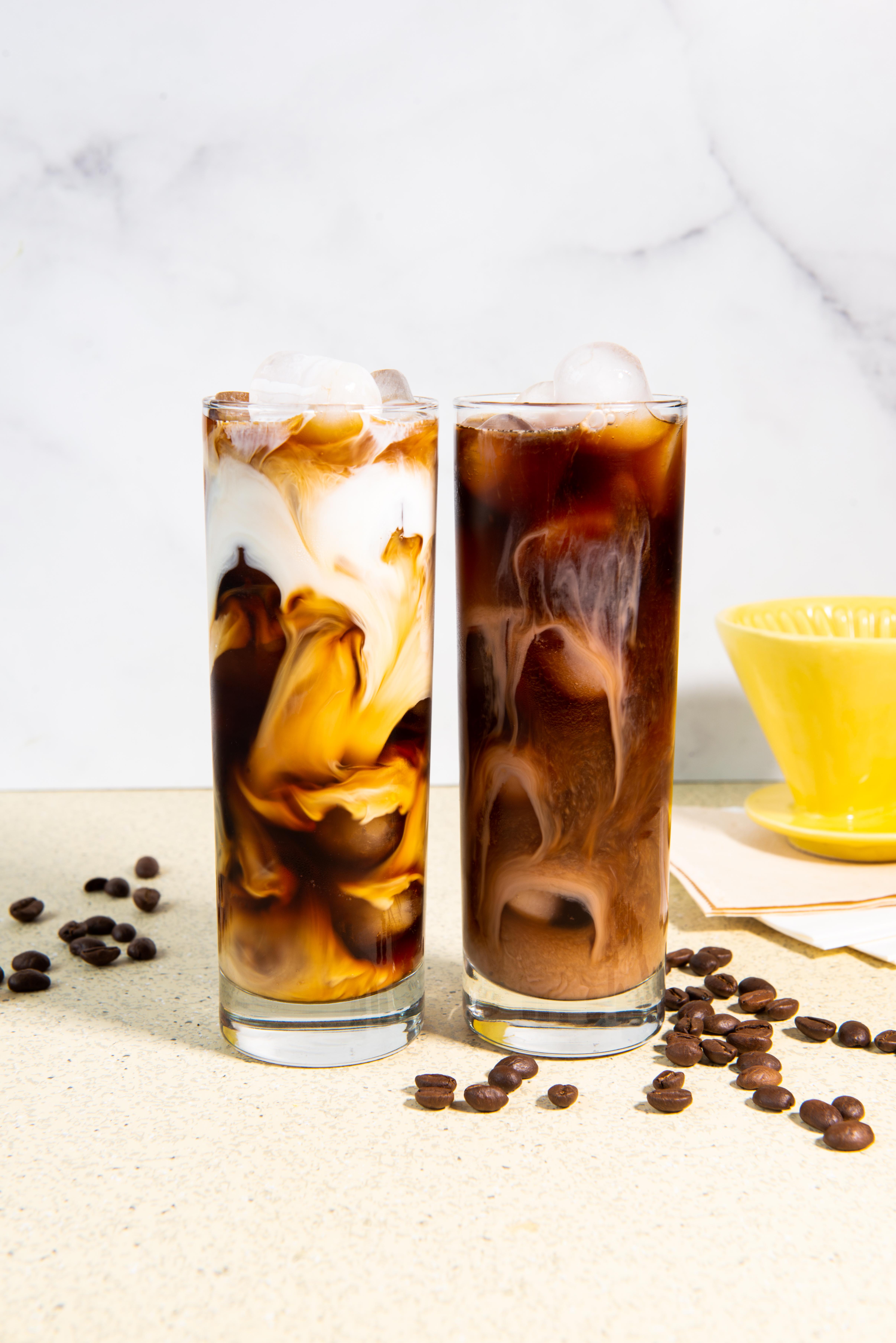 Café glacé infusé à froid (cold brew)