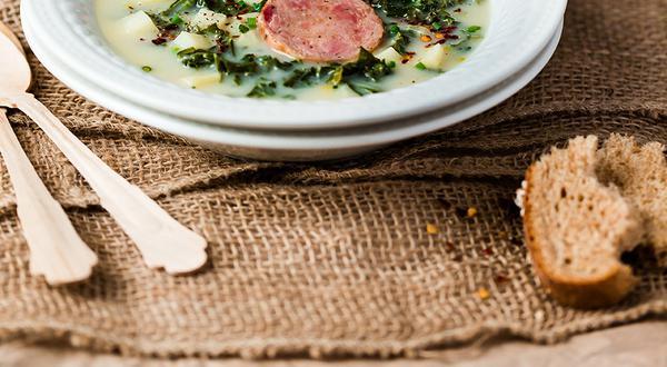 Caldo verde (soupe au chou portugaise)