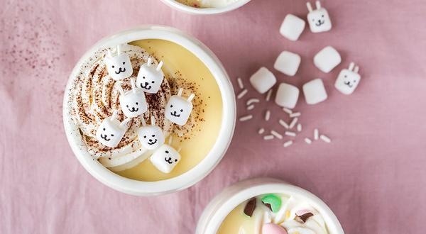 Chocolat chaud blanc maison