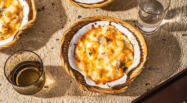 Coquilles Saint-Jacques, sauce citron et poivre