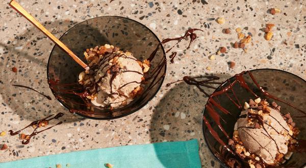 Crème glacée à la pâte à biscuits