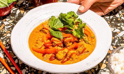 Curry jaune au porc