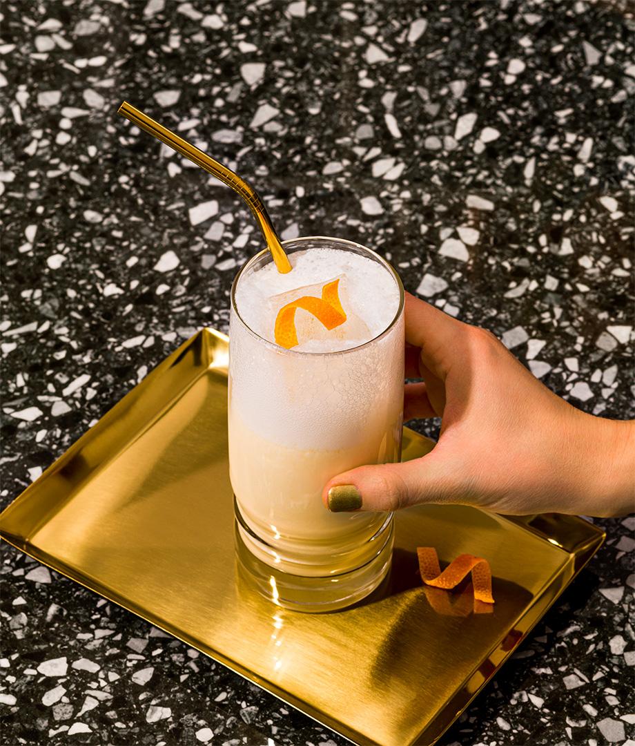 Fizz à l'orange sans alcool