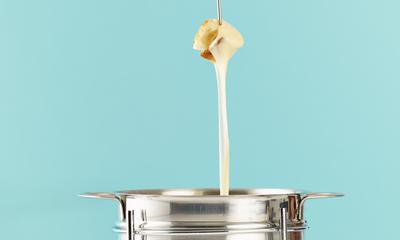 Fondue aux fromages d'ici
