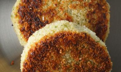 Galettes de pommes de terre au fromage le P'tit Bonheur et au brocoli