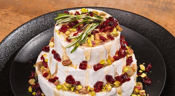 Gâteau de meules de fromage