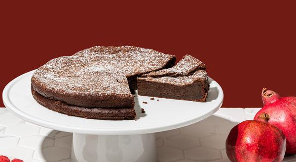 Gâteau décadent au chocolat sans farine