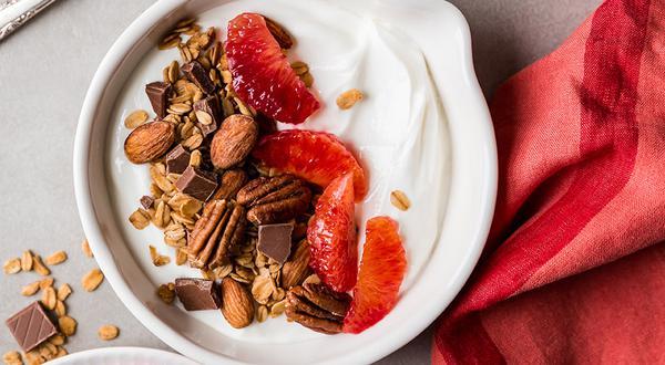 Granola maison au chocolat et noix