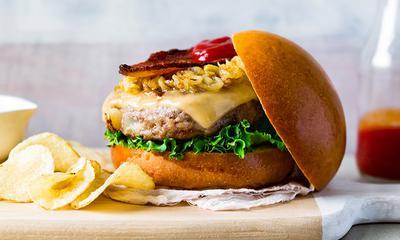 Hamburger tourtière