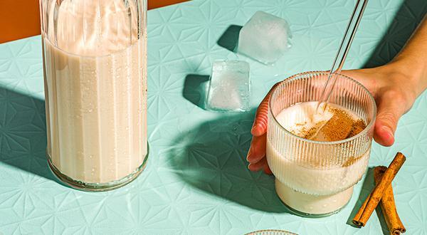 Horchata au lait