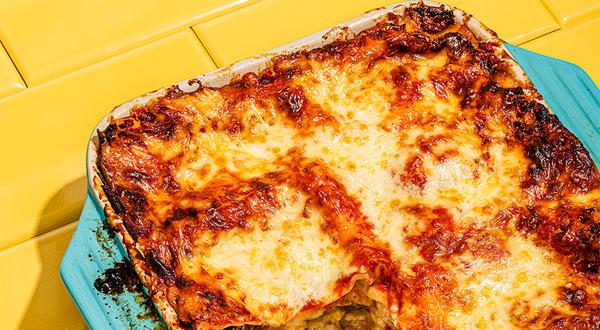 Lasagne végé aux 4 fromages d'ici