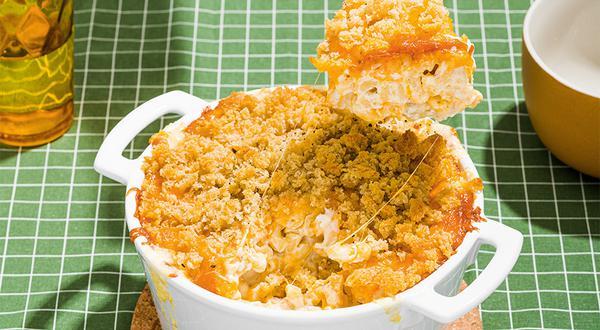 Macaroni au fromage crémeux