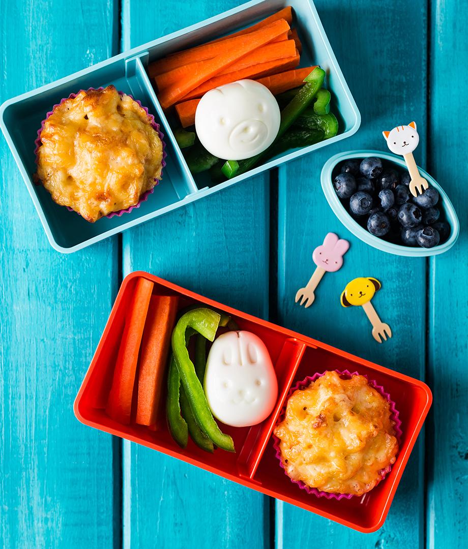 Mini-macaronis au fromage