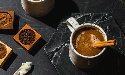 Mocktail épicé au beurre