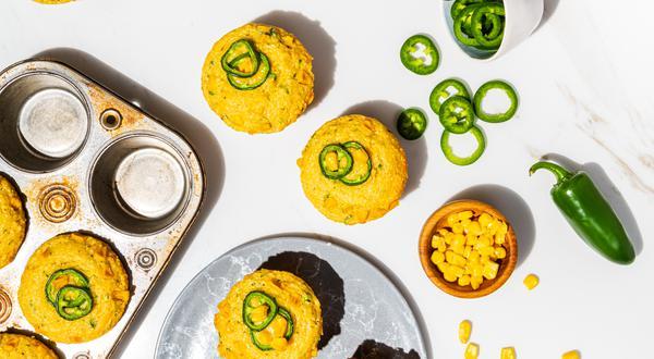 Muffins à la ricotta et au maïs