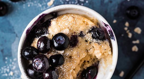 Muffins-déjeuner dans une tasse