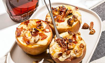 Pommes farcies au fromage