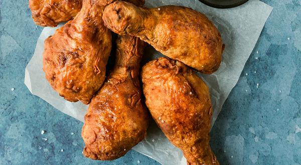 Poulet frit au babeurre