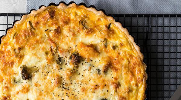 Quiche aux légumes et au fromage