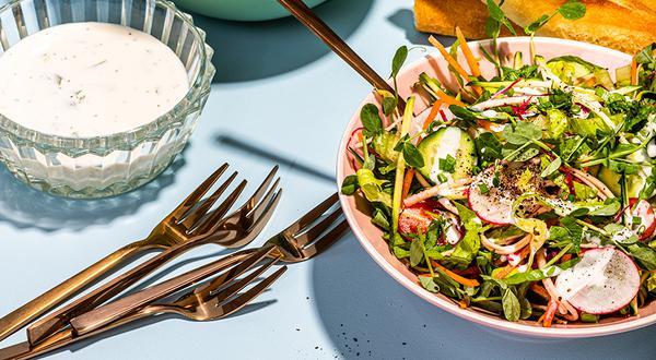 Salade aux légumes d'été