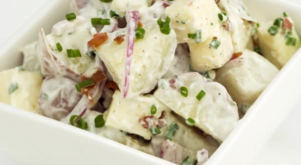 Salade de pommes de terre grelots à L'Inspiré