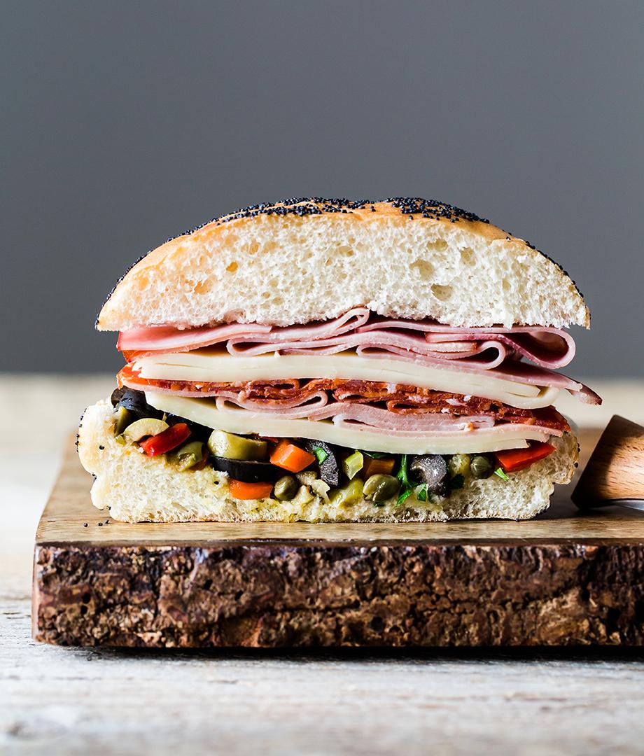 Sandwichs muffuletta