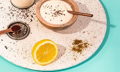 Sauce au yogourt et tahini