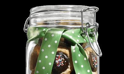 Bouchées au beurre d'arachide et chocolat