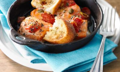 Casserole de saumon à la provençale