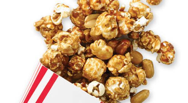 Maïs soufflé au caramel à l'érable