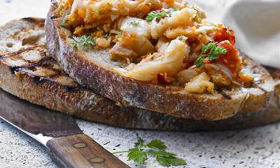 Rillettes de homard au cerfeuil, à la lime et au piment d'Espelette