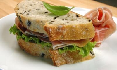 Sandwich crème dijonnaise