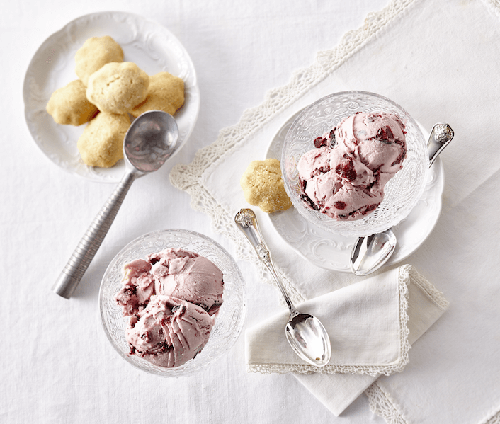 Crème glacée à la cerise