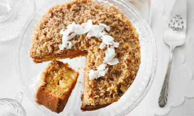 Gâteau à l'ananas et à la noix de coco (façon Reine-Élizabeth)