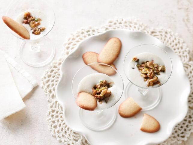 Parfum de baklava en verrine