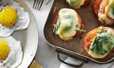 Déjeuner gratiné à la saucisse et Le 1608